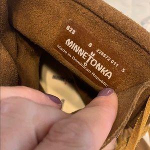 Minnetonka Shoes - Great condition lace up Minnetonka moccasins